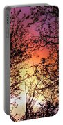 Rainbow Sunset Portable Battery Charger