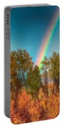 Rainbow Surprise Portable Battery Charger by Omaste Witkowski