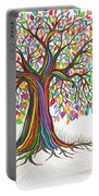 Rainbow Tree Dreams Portable Battery Charger