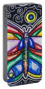 Rainbows And Butterflies Portable Battery Charger