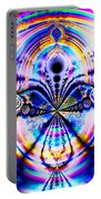 Rainbows And Dragonflies Portable Battery Charger