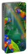 Rainbows In Paradise Portable Battery Charger
