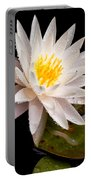 Raindrop Water Lilly Portable Battery Charger