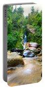 Rainforest Stream New Zealand Portable Battery Charger