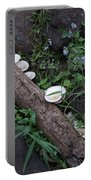 Rainforest Vegetation Moss And Fungi Portable Battery Charger