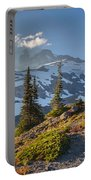 Rainier From Paradise Glacier Portable Battery Charger