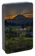 Rainier Sunset Basin Portable Battery Charger