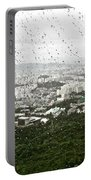 Rainy Day In Seoul Portable Battery Charger