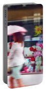 Rainy Day Kitty Portable Battery Charger