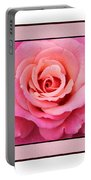Rainy Day Rose Square Portable Battery Charger