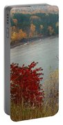 Rainy Falltastic Day Portable Battery Charger