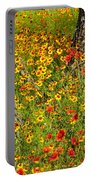 Ranch Wildflowers And Trees 2am-110522 Portable Battery Charger