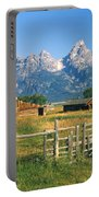 1m9392-ranchland And The Tetons Portable Battery Charger