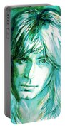 Randy Rhoads Portrait Portable Battery Charger