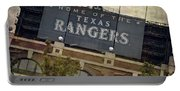 Rangers Ballpark In Arlington Color Portable Battery Charger