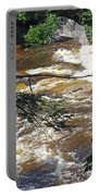 Rapids Of The Swift River Kancamagus Hwy View White Mountains Nh Portable Battery Charger