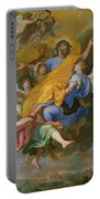 Rapture Of Saint Joseph Portable Battery Charger