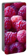 Homegrown Organic Raspberries, Chiloquin Oregon Portable Battery Charger