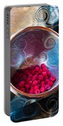 Raspberry Reflections Portable Battery Charger