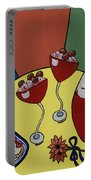 Raspberry Wine Portable Battery Charger