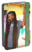 Rasta Man Portable Battery Charger