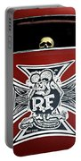 Rat Fink Big Daddy Roth Portable Battery Charger