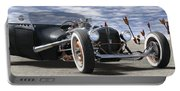 Rat Rod On Route 66 2 Panoramic Portable Battery Charger