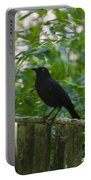 Raven In The Wild Portable Battery Charger