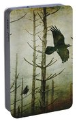 Ravens Of The Mist Artistic Expression Portable Battery Charger