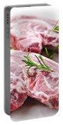 Raw Lamb Chops Portable Battery Charger