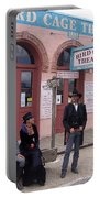 Re-enactors Bird Cage Theater Rendezvous Of The Gunfighters Tombstone Arizona 2004            Portable Battery Charger