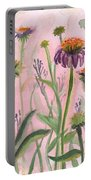Reaching Flowers Portable Battery Charger
