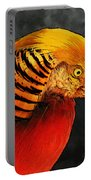 Read And Yello Bird Portable Battery Charger