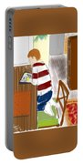 Reading The Little Prince Portable Battery Charger