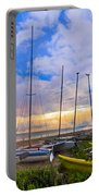 Ready For Sails Portable Battery Charger by Debra and Dave Vanderlaan