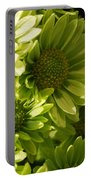 Real Green Flowers Portable Battery Charger