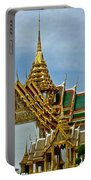 Reception Hall At Grand Palace Of Thailand In Bangkok Portable Battery Charger