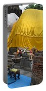 Reclining Buddha Monument Portable Battery Charger
