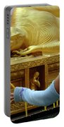 Reclining Buddha Prayer Candles Portable Battery Charger