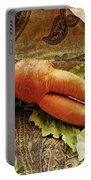Reclining Nude Carrot Portable Battery Charger