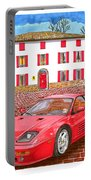 Enzo Ferrari S Garage With 1995 Ferrari 512m Portable Battery Charger