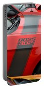 Red 302 Boss Mustang Portable Battery Charger