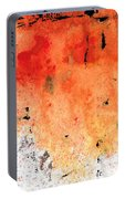 Red Abstract Art - Taking Chances - By Sharon Cummings Portable Battery Charger