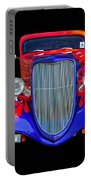 Red And Blue Custom Portable Battery Charger