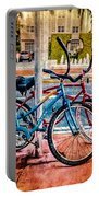 Red And Blue Rides Portable Battery Charger