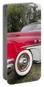 Red And White Classic Portable Battery Charger
