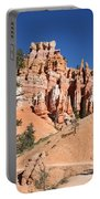 Red And White Rocks - Bryce Canyon Portable Battery Charger