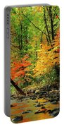 Red And Yellow Water Glow Portable Battery Charger