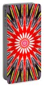 Red Arrow Abstract Portable Battery Charger