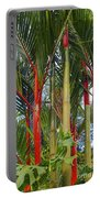 Red Bamboo Portable Battery Charger